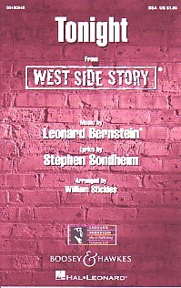 Tonight SSA (West Side Story) by Bernstein published by Boosey & Hawkes
