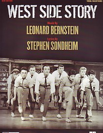 West Side Story - Vocal Selection by Bernstein published by Boosey and Hawkes