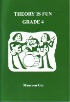 Theory Is Fun Grade 4 by Cox published by Subject