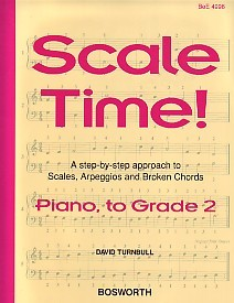 Scale Time Grade 2 by Turnbull for Piano published by Bosworth