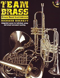 Team Brass for Brass Band Instruments (Treble Clef) Book & CD published by Faber