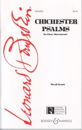 Bernstein: Chichester Psalms published by Boosey and Hawkes - Vocal Score