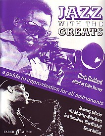 Jazz with the Greats Improvisation for Wind Band by Goddard published by Faber
