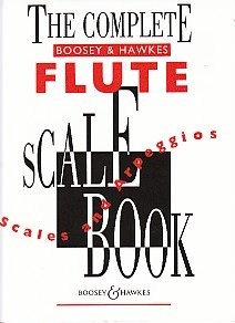 Complete Flute Scale Book published by Boosey and Hawkes