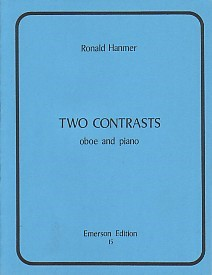2 Contrasts by Hanmer for Oboe published by Emerson