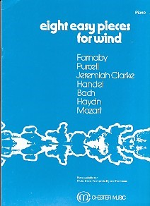 8 Easy Pieces for Wind - for Oboe published by Chester