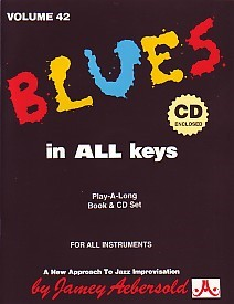 Aebersold 42 Blues in All Keys Book & CD for All Instruments