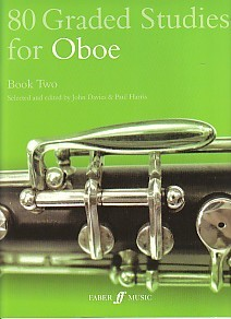 80 Graded Studies Book 2 for Oboe published by Faber