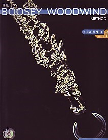 Boosey Woodwind Method 1 Book & CD for Clarinet published by Boosey and Hawkes