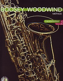 Boosey Woodwind Method 2 Book & CD for Alto Saxophone published by Boosey and Hawkes