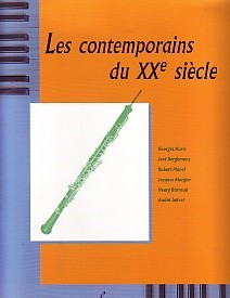 Les Contemporains Du 20th Siecle for Oboe published by Billaudot