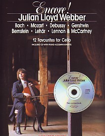 Encore! Lloyd Webber for Cello Book & CD published by Chester