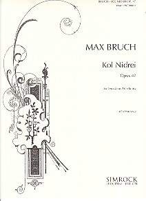 Bruch: Kol Nidrei for Cello published by Simrock