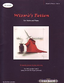 Wizards Potion Book & CD for Violin published by Peters