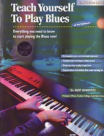 Alfred's Teach Yourself To Play Blues for Piano Book & CD