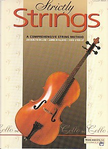Strictly Strings Book 1 for Cello published by Alfred