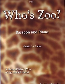 Cowles: Who's Zoo for Bassoon published by Spartan Press