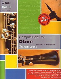 Lyons: Compositions for Oboe Volume 1 Book & CD published by Useful Music