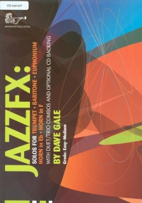 Gale: Jazz FX Book & CD for Horn in F published by Brasswind