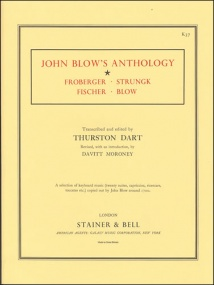 John Blow's Anthology for Keyboard published by Stainer & Bell
