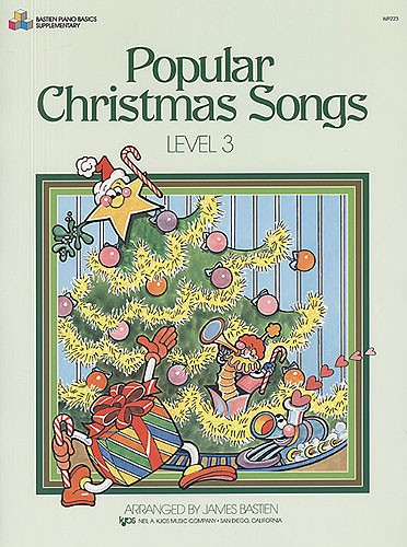 Bastien Popular Christmas Songs Level 3 for Piano
