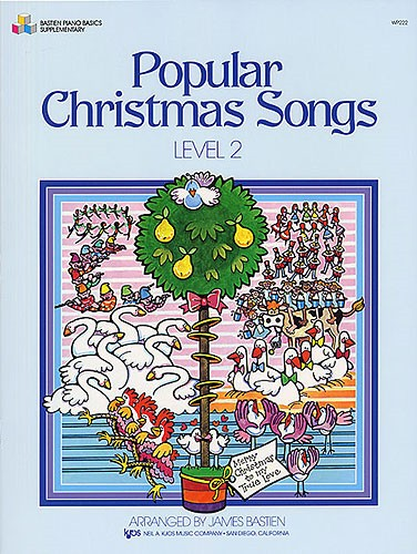 Bastien Popular Christmas Songs Level 2 for Piano