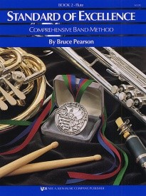 Standard Of Excellence: Comprehensive Band Method Book 2 (Flute) published by Kjos