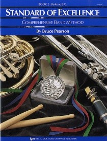 Standard Of Excellence Book 2 Baritone (Bass Clef)