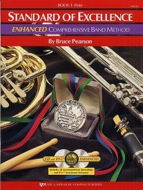 Standard Of Excellence: Enhanced Comprehensive Band Method Book 1 (Flute) published by Kjos
