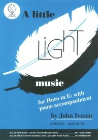 A Little Light Music for Horn in Eb published by Brasswind