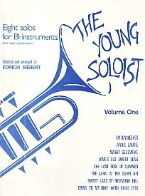 The Young Soloist Volume 1 for Bb Treble Clef Intruments published by Studio Music
