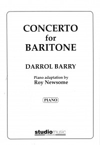 Barry: Concerto for Baritone published by Studio