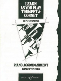 Learn As You Play Piano Accompaniment for Trumpet published by Boosey and Hawkes