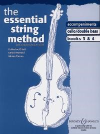Essential String Method 3 & 4 Piano Accompaniments for Cello & Double Bass published by Boosey & Hawkes