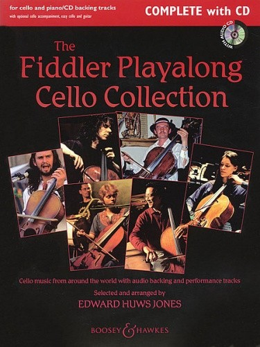 Fiddler Playalong Collection for Cello, Piano & CD published by Boosey and Hawkes