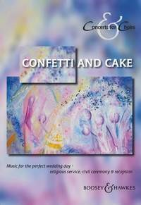 Concerts for Choirs - Confetti and Cake SATB published by Boosey and Hawkes
