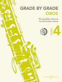 Grade by Grade for Oboe - Grade 4 - Book & CD published by Boosey & Hawkes