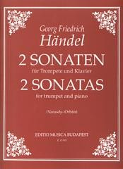 2 Sonatas for Trumpet by Handel published by EMB