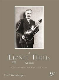 A Lionel Tertis Album for Viola published by Weinberger