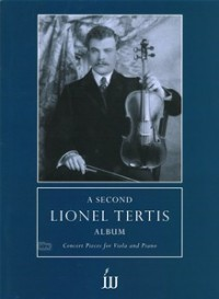 A Second Lionel Tertis Album for Viola published by Weinberger