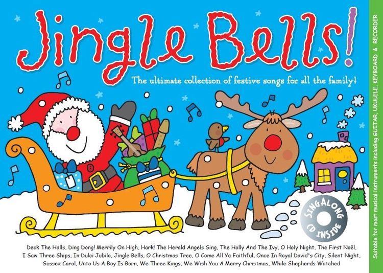 Music For Kids: Jingle Bells Book & CD published by Musicsales
