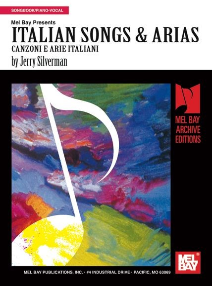 Italian Songs & Arias published by Mel Bay