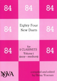 84 New Duets for 2 Clarinets Volume 1 published by Nova