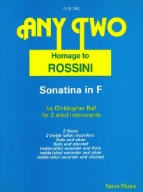 Ball: Any Two - Homage to Rossini published by Nova
