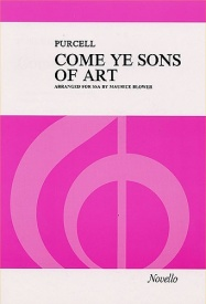 Purcell: Come Ye Sons Of Art (SSA) published by Novello
