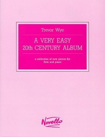 A Very Easy 20th Century Album for Flute published by Novello