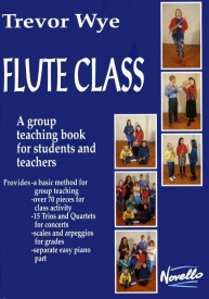 Wye: Flute Class published by Novello