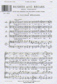 Vaughan Williams: Bushes and Briars For TTBB published by Novello