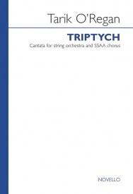 O'Regan: Triptych SSAA published by Novello - Vocal Score