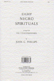 Eight Negro Spirituals SSA published by Novello
